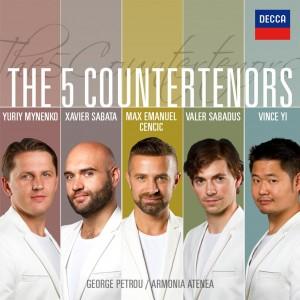 MAX CENCIC, ARMONIA ATENEA, GEORGE PETROU-THE FIVE COUNTERTENORS