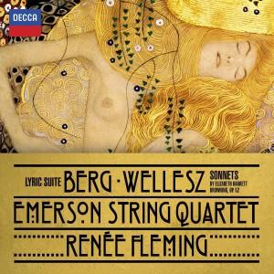RENÉE FLEMING, EMERSON STRING QUARTET-BERG: LYRIC SUITE