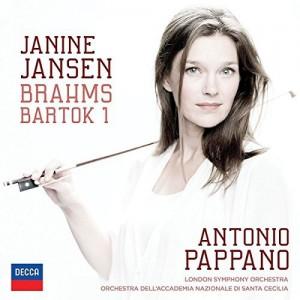 JANINE JANSEN, LONDON SYMPHONY ORCHESTRA, ANTONIO PAPPANO-BRAHMS: VIOLIN CONCERTO; BARTOK: VIOLIN CONCERTO NO.1
