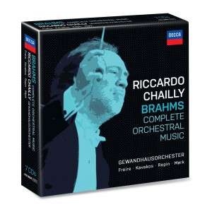 RICCARDO CHAILLY-BRAHMS: COMPLETE ORCHESTRAL WORKS