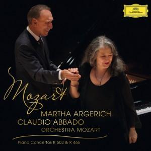 MARTHA ARGERICH, ORCHESTRA MOZART, CLAUDIO ABBADO-MOZART: PIANO CONCERTO NO.25 IN C MAJOR K.503; PIANO CONCERTO NO.20 IN D MINOR