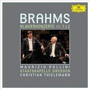 MAURIZIO POLLINI, STAATSKAPELLE DRESDEN, CHRISTIAN THIELEMANN-BRAHMS: PIANO CONCERTOS NOS. 1 & 2