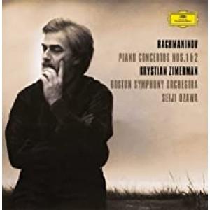 KRYSTIAN ZIMERMAN, BOSTON SYMPHONY ORCHESTRA, SEIJI OZAWA-RACHMANINOV: PIANO CONCERTOS NOS. 1 & 2