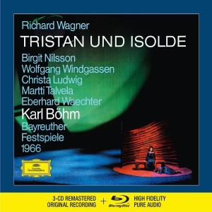 BIRGIT NILSSON, CHRISTA LUDWIG, PETER SCHREIER, WOLFGANG WINDGASSEN, EBERHARD WAECHTER, MARTTI TALVELA, CHOR DER BAYREUTHER FESTSPIELE, ORCHESTER DER BAYREUTHER FESTSPIELE, KARL BÖHM-WAGNER: TRISTAN UND ISOLDE (CD + BR AUDIO)