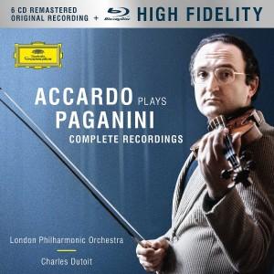 SALVATORE ACCARDO-ACCARDO PLAYS PAGANINI - THE COMPLETE RECORDINGS