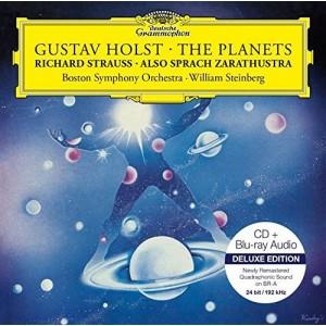 BOSTON SYMPHONY ORCHESTRA, WILLIAM STEINBERG-HOLST: THE PLANETS / R. STRAUSS: ALSO SPRACH ZARATHUSTRA