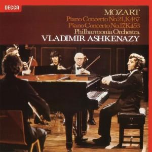 VLADIMIR ASHKENAZY, PHILHARMONIA ORCHESTRA-MOZART: PIANO CONCERTOS NOS.17 & 21