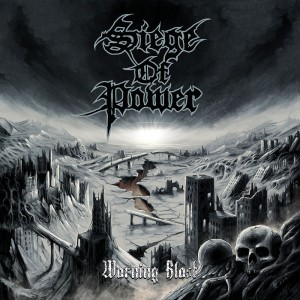SIEGE OF POWER-WARNING BLAST
