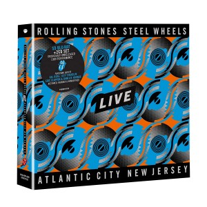 ROLLING STONES-STEEL WHEELS LIVE (CD BOX)