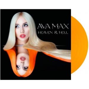 AVA MAX-HEAVEN & HELL (ORANGE TRANSPARENT VINYL)