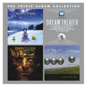 DREAM THEATERJHE TRIPLE ALBUM COLLECTION
