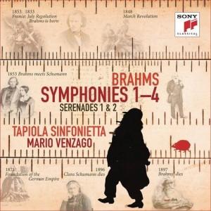 J. BRAHMS-SYMPHONIES