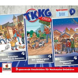 TKKG JUNIOR-SPURNASEN-BOX 3 (FOLGEN..