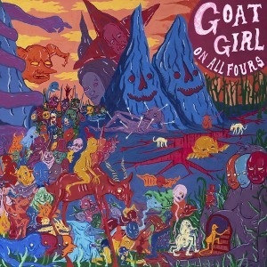 GOAT GIRL-ON ALL FOURS