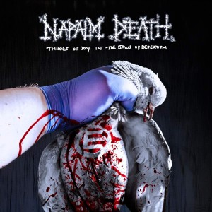 NAPALM DEATH-THROES OF JOY IN THE JAWS OF DEFEATISM (LP+POSTER)
