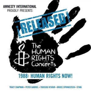 VARIOUS ARTISTS-RELEASED! THE HUMAN RIGHTS CONCERTS 1988: HUMAN RIGHTS NOW!