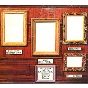 EMERSON-LAKE AND PALMER-PICTURES AT AN EXHIBITION