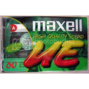 MAXELL UE-60 RECORDING CASSETTE