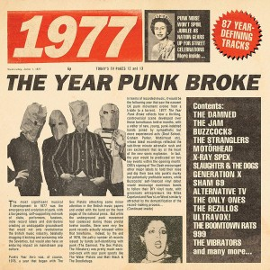 VARIOUS ARTISTS-1977: THE YEAR PUNK BROKE