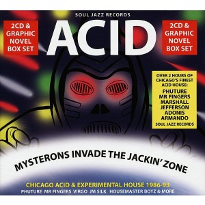 VARIOUS ARTISTS-ACID: MYSTERONS INVADE THE JACKIN´ ZONE