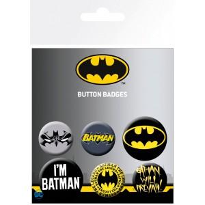 BATMAN COMICS MIX BADGE PACK