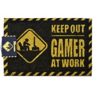 GAMER AT WORK DOORMAT