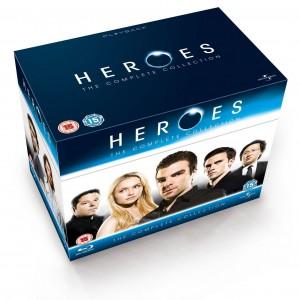 HEROES COMPLETE SERIES 1-4