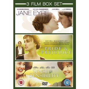 JANE EYRE / SENSE AND SENSIBILITY / PRIDE AND PREJUDICE