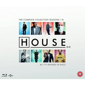 HOUSE M.D.: COMPLETE SEASONS 1-8