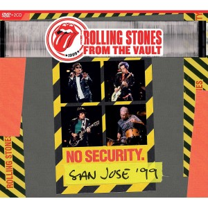 ROLLING STONES-FROM THE VAULT: NO SECURITY - SAN JOSE 1999 DLX