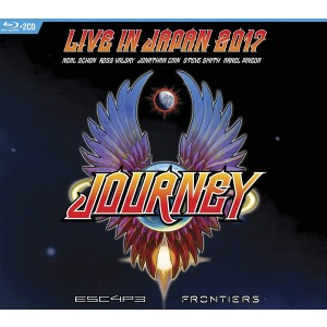 JOURNEY-ESCAPE & FRONTIERS LIVE IN JAPAN (DVD/CD)