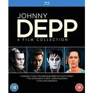 JOHNNY DEPP 4 FILM COLLECTION