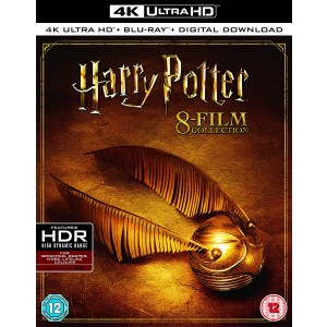 HARRY POTTER COMPLETE 8 FILM COLLECTION