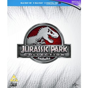 JURASSIC PARK 3 FILM COLLECTION  (+ JURASSIC PARK 3D)