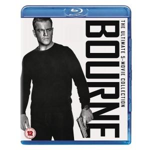 JASON BOURNE 5 FILM COLLECTION