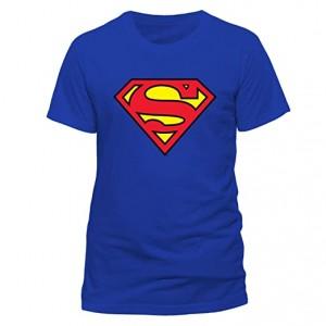 SUPERMAN LOGO ROYAL BLUE XL
