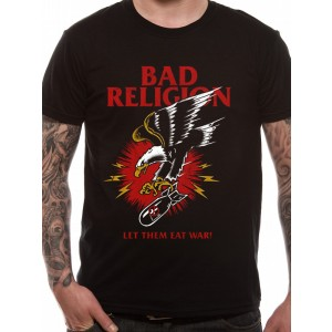 BAD RELIGION WAR BLACK L