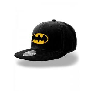 BATMAN LOGO FLAT CAP