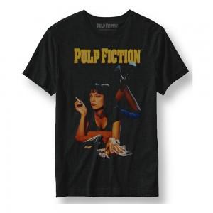 PULP FICTION T-SHIRT POSTER SIZE S