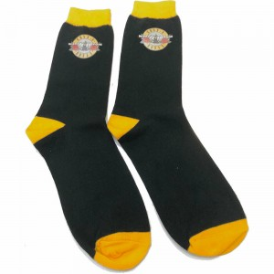 GUNS ´N´ ROSES CIRCLE LOGO BLACK SOCK (SIZE 40-45)