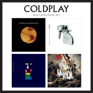 COLDPLAY-4CD CATALOGUE SET