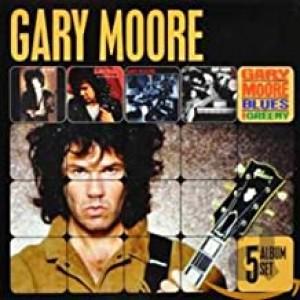 GARY MOORE-5 ALBUM SET
