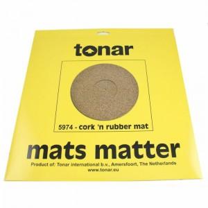 TONAR CORK ´N RUBBER TURNTABLE MAT
