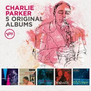 CHARLIE PARKER-5 ORIGINAL ALBUMS