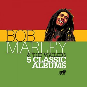 BOB MARLEY & THE WAILERS-5 CLASSIC ALBUMS