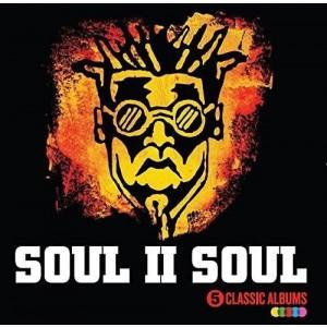 SOUL II SOUL-5 CLASSIC ALBUMS