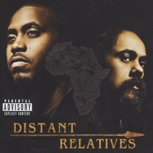 NAS & DAMIAN JR GONG MARLEY-DISTANT RELATIVES