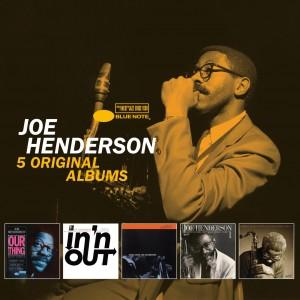 JOE HENDERSON-5 ORIGINAL ALBUMS