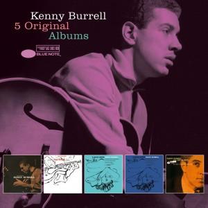 KENNY BURRELL-5 ORIGINAL ALBUMS