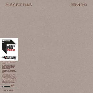BRIAN ENO-MUSIC FOR FILMS